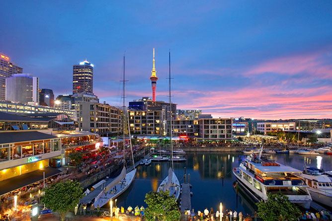 Auckland, North Island New Zealand