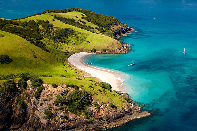 Bay Of Islands North Island New Zealand