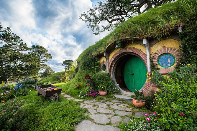 Hobbiton, Matamata North Island New Zealand
