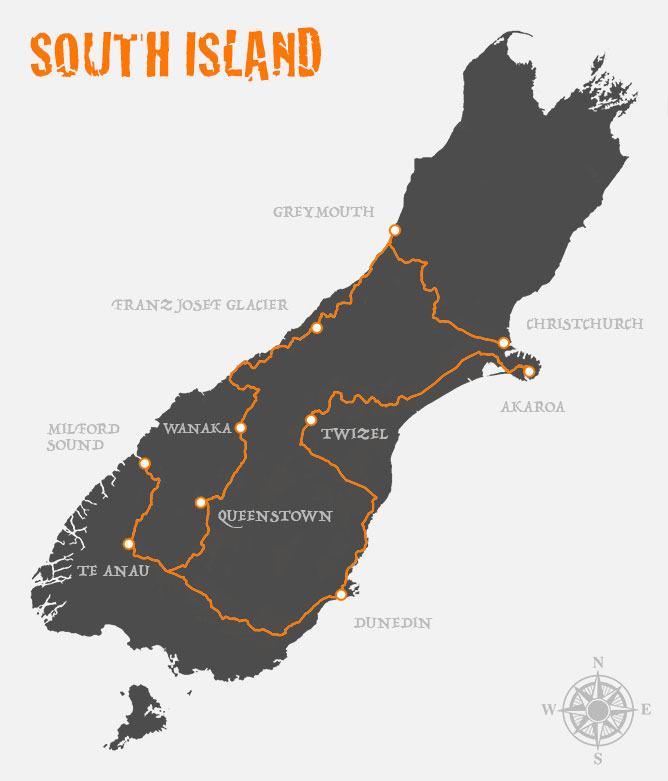 Driving Itinerary New Zealand S South Island In 14 Days