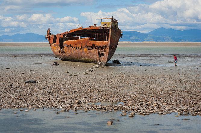 Janie Seddon Shipwreck, Motueka