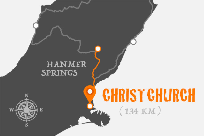 Hanmer Springs To Christchurch Driving Distance