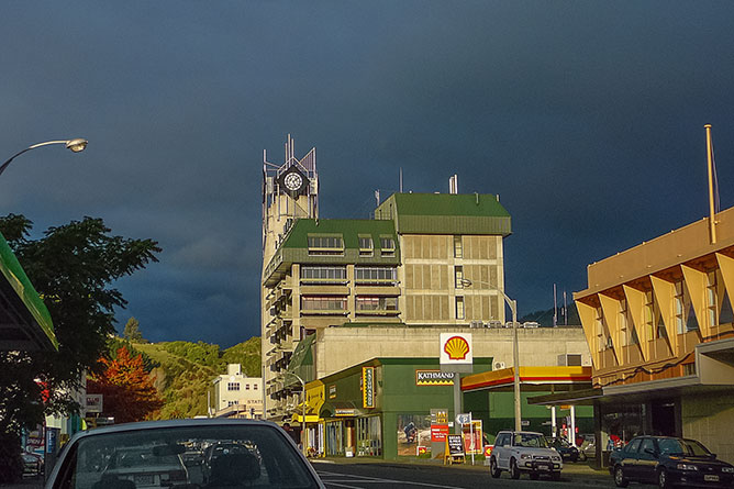Nelson City Clock Tower