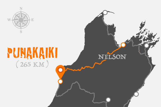 Nelson To Punakaiki Driving Distance