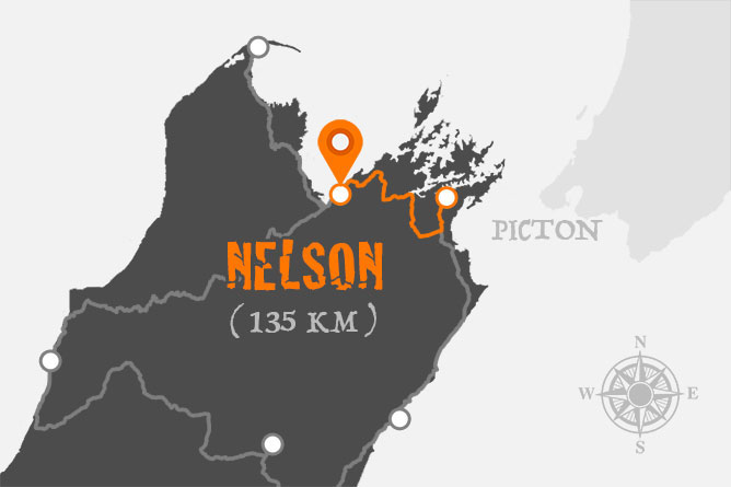 Picton To Nelson Driving Distance