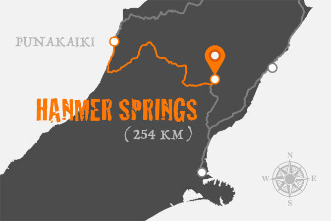 Punakaiki To Hanmer Springs Driving Distance
