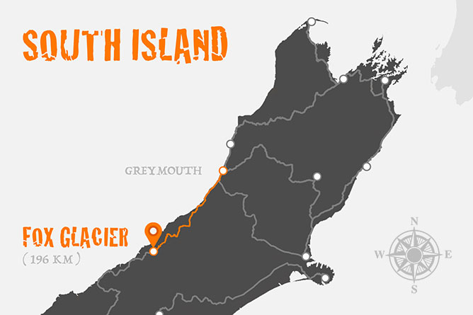 Greymouth To Fox Glacier Driving Distance