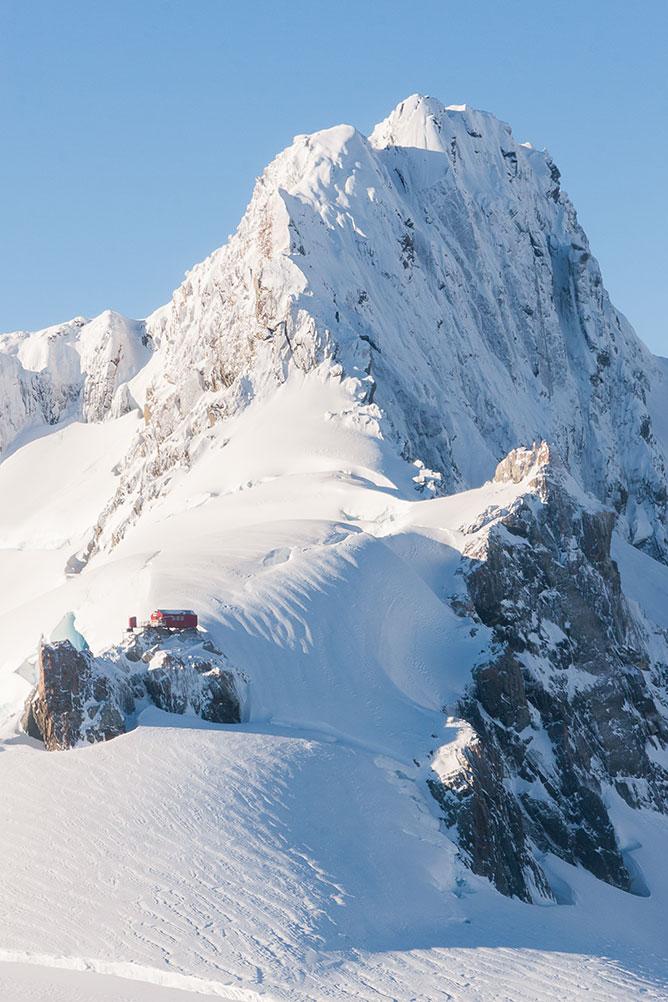 Alpine Pioneer Hut, Fox Glacier